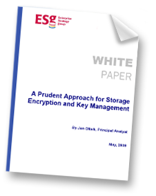 A Prudent Approach for Storage Encryption and